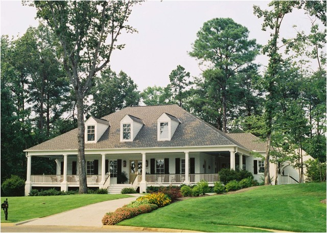 acadian style home with wrap around porch in alabama traditional exterior birmingham