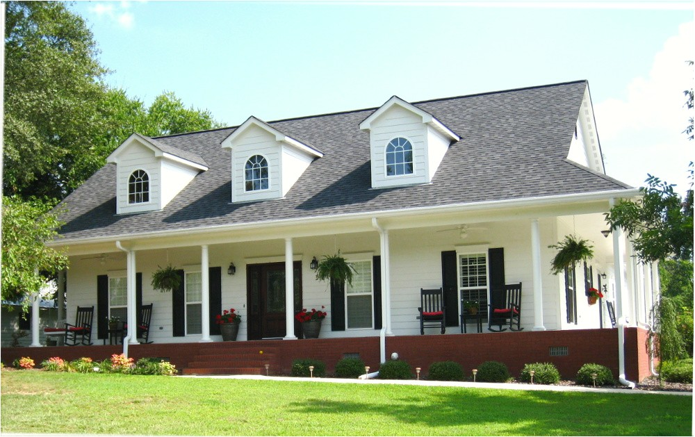 acadian style house plans with wrap around porch
