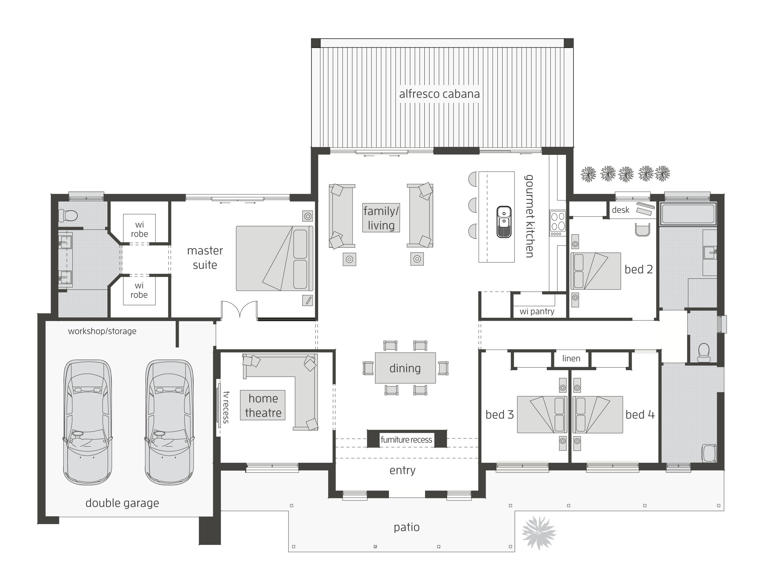 house plans for acreage queensland