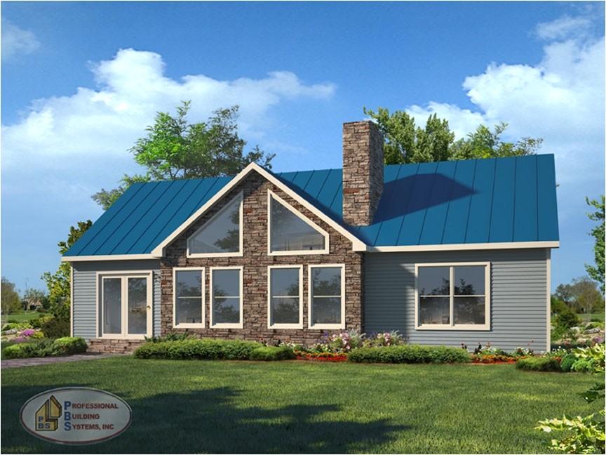 Adirondack Vacation Home Plans