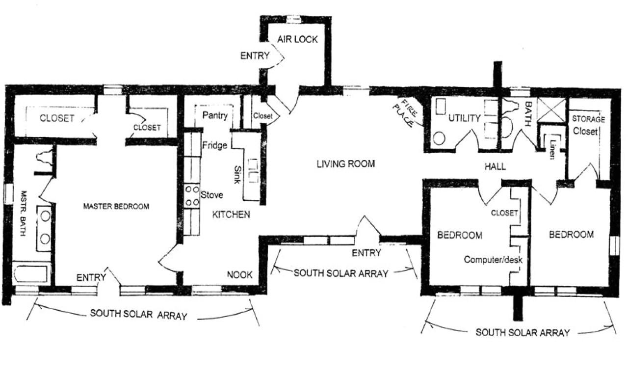 Adobe Home Floor Plans Pueblo Style House Plans Adobe House