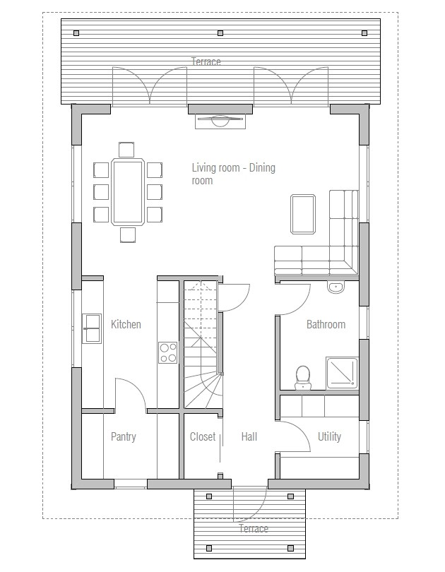 affordable home plan ch41