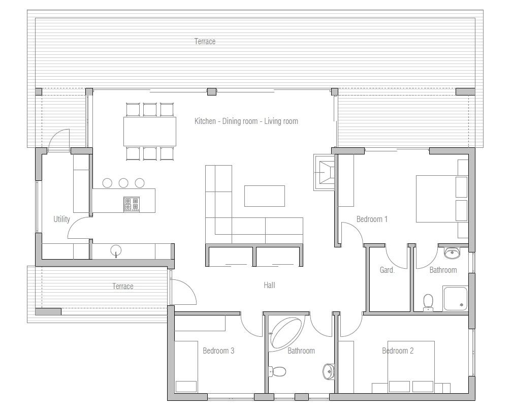 affordable home plans economical house plan 58