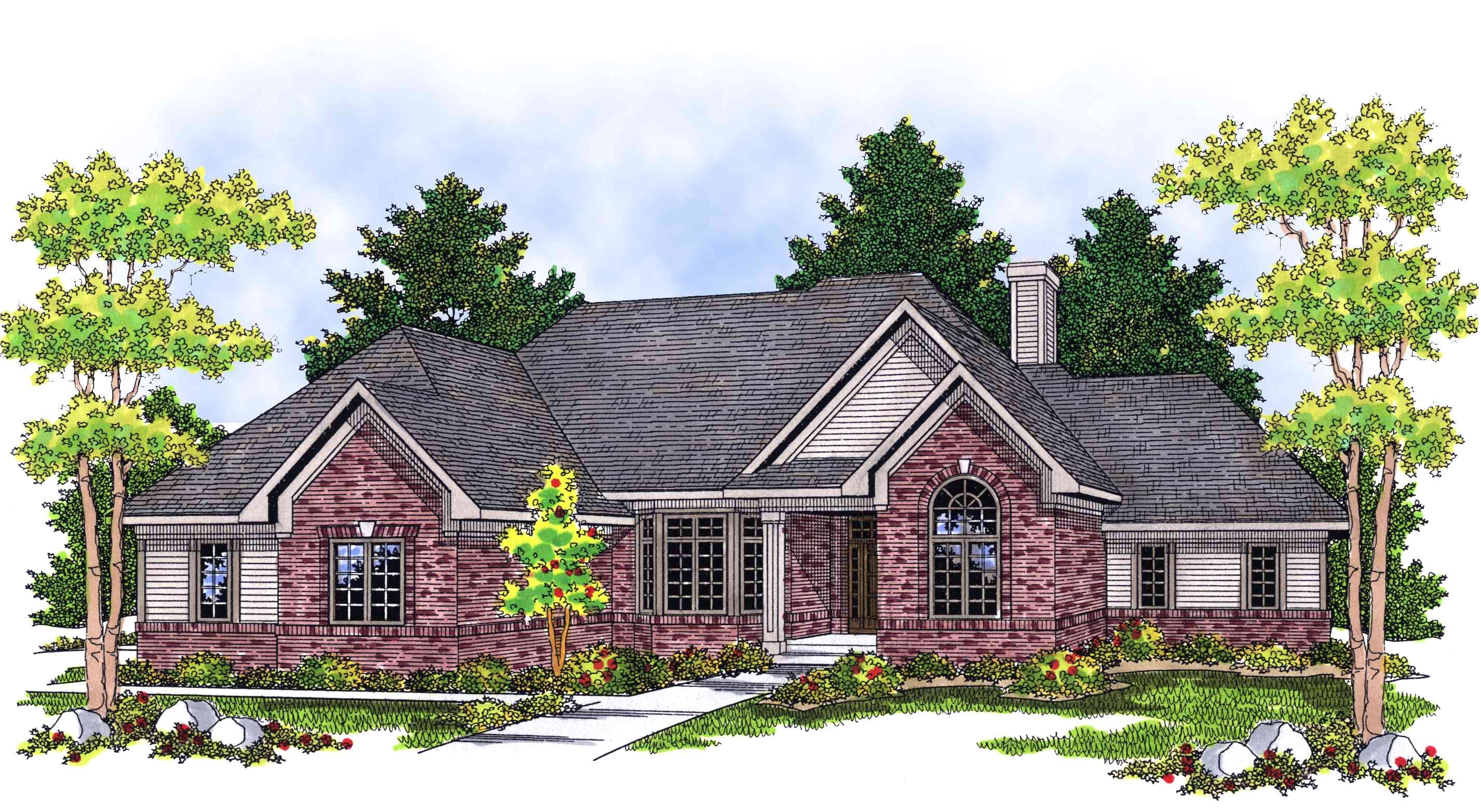 Affordable Ranch Home Plans Comfortable and Affordable Ranch Home Plan 8973ah