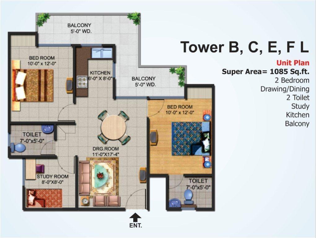 ajnara homes noida extension residential property