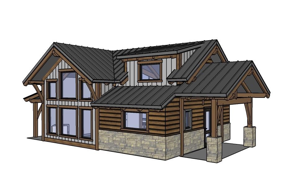designing our remote alaska lake cabin