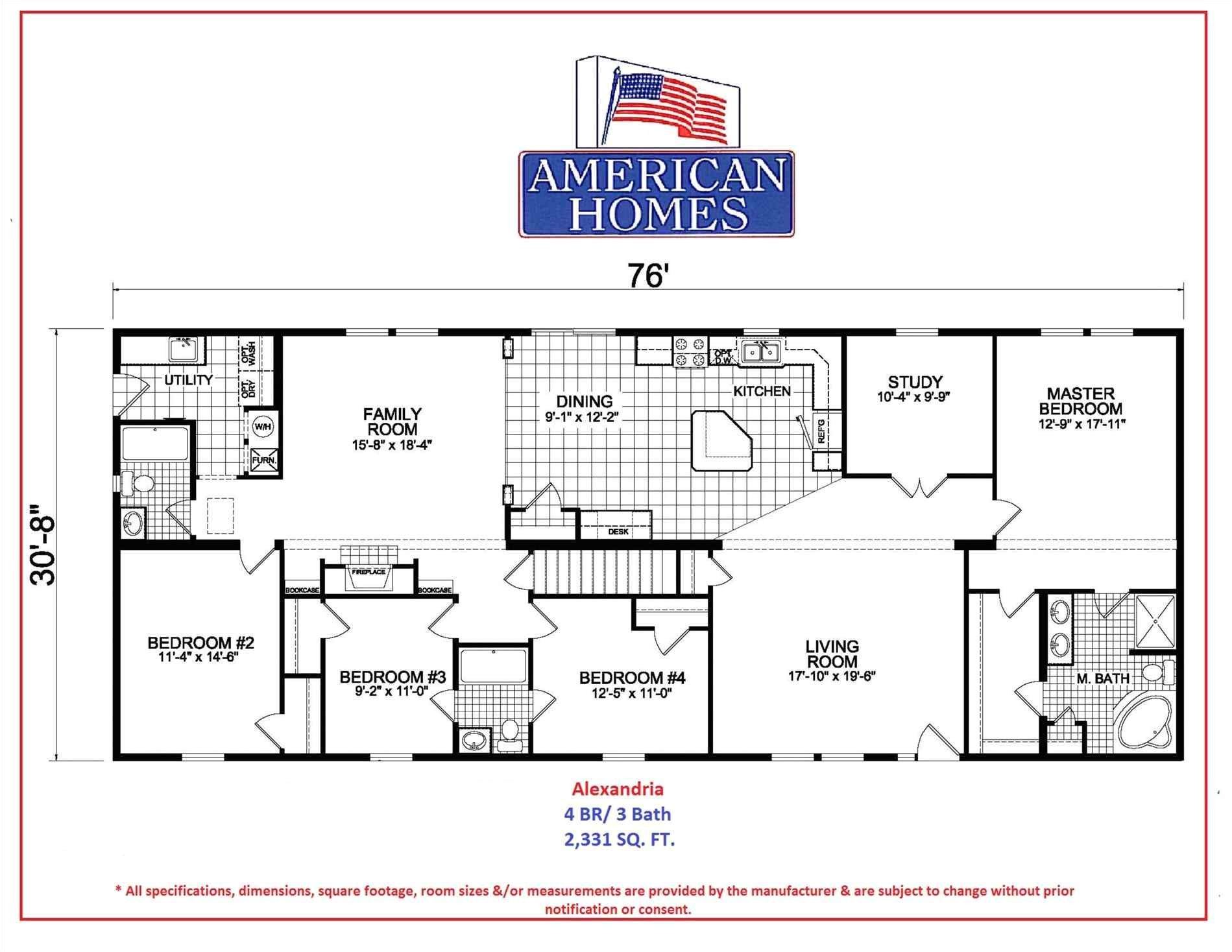 all american homes floor plans