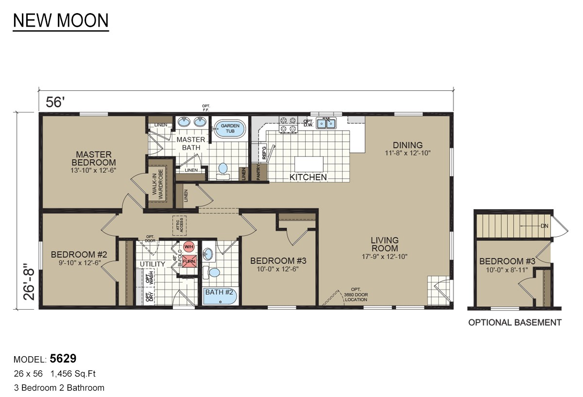 new moon mobile home floor plans