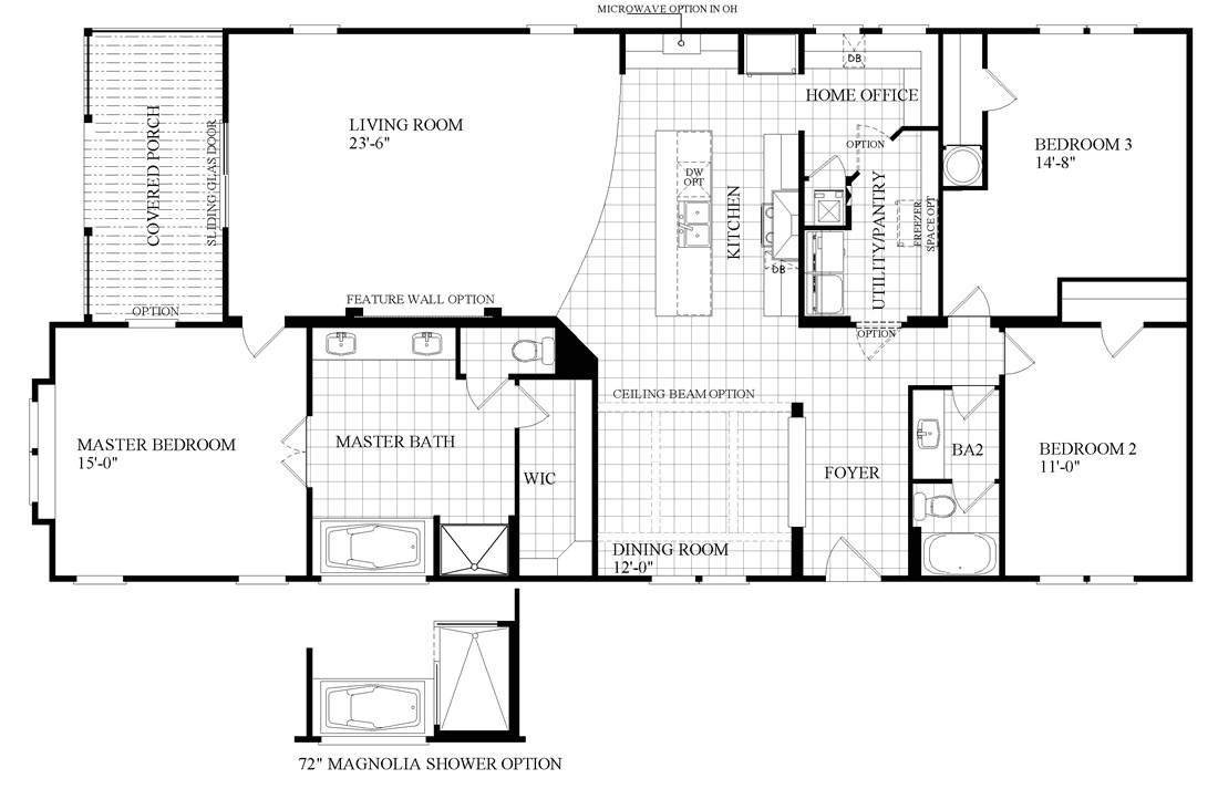 southern energy mobile homes floor plans