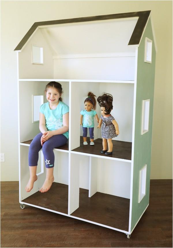 three story american girl or 18 dollhouse