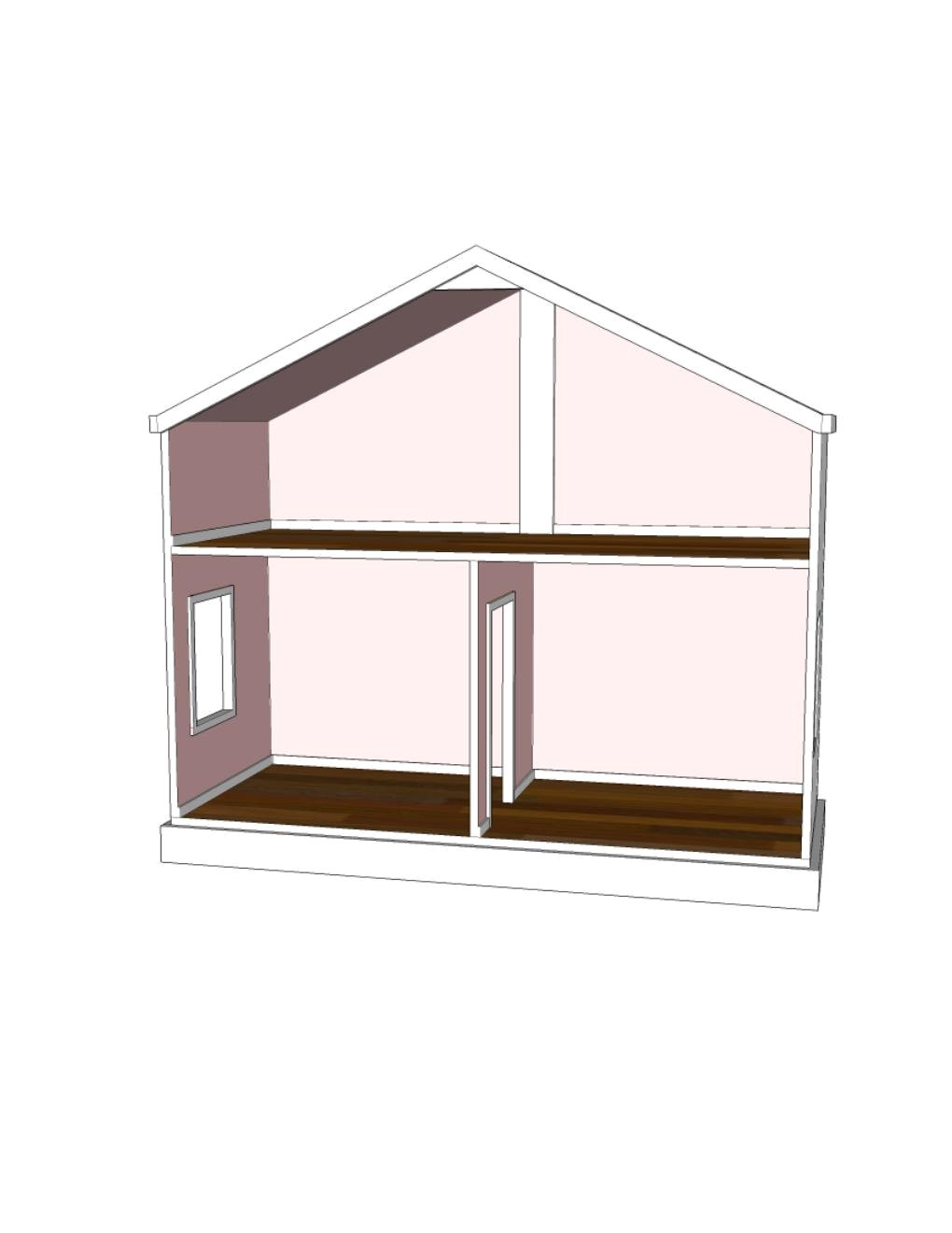 doll house plans for american girl or 18
