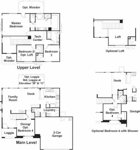 ladera canyon in summerlinrichmond american homes las vegas regarding richmond american homes floor plans