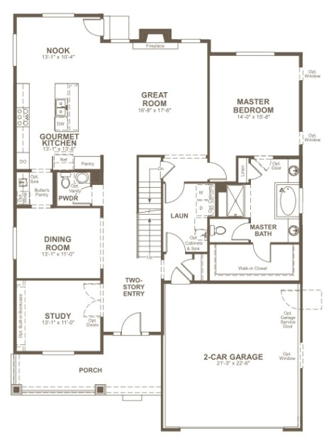 elegant richmond american homes floor plans