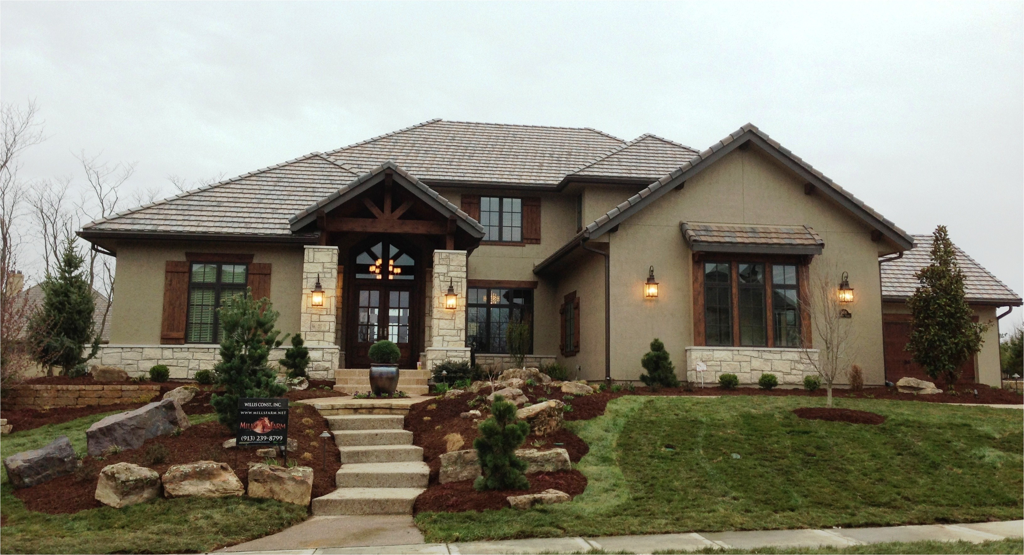 very comfortable american style house plans