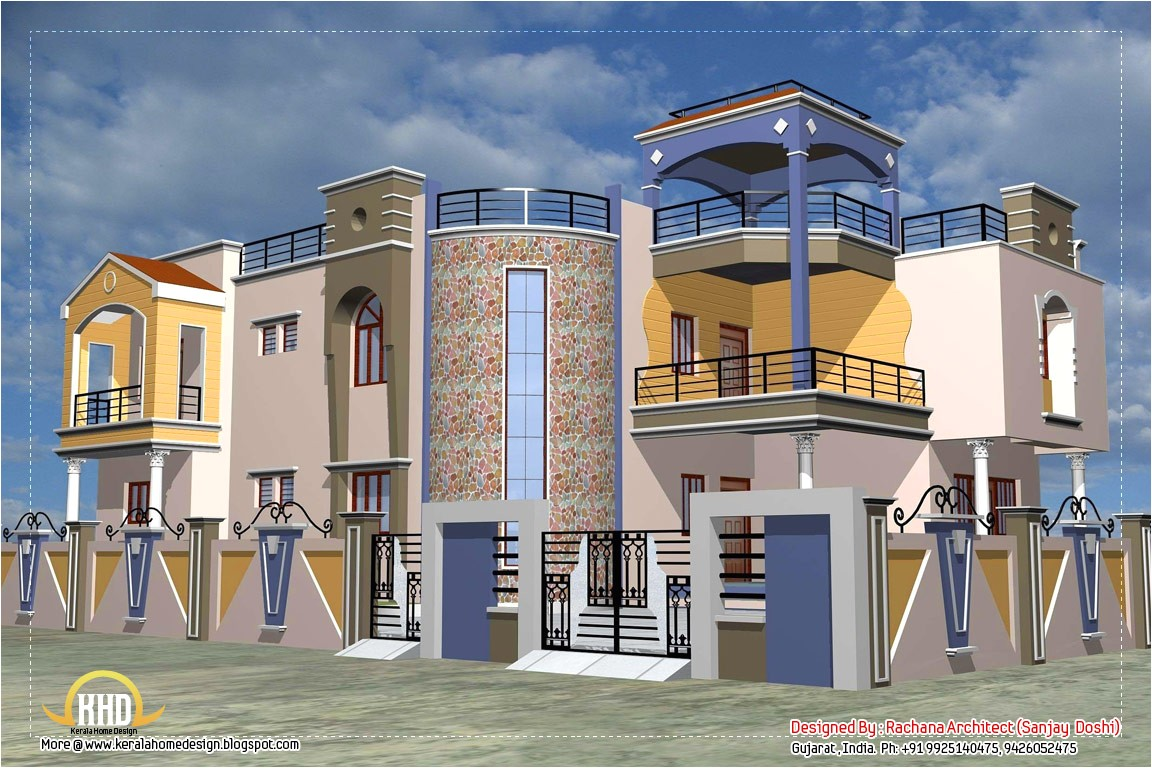 luxury indian home design with house comment form