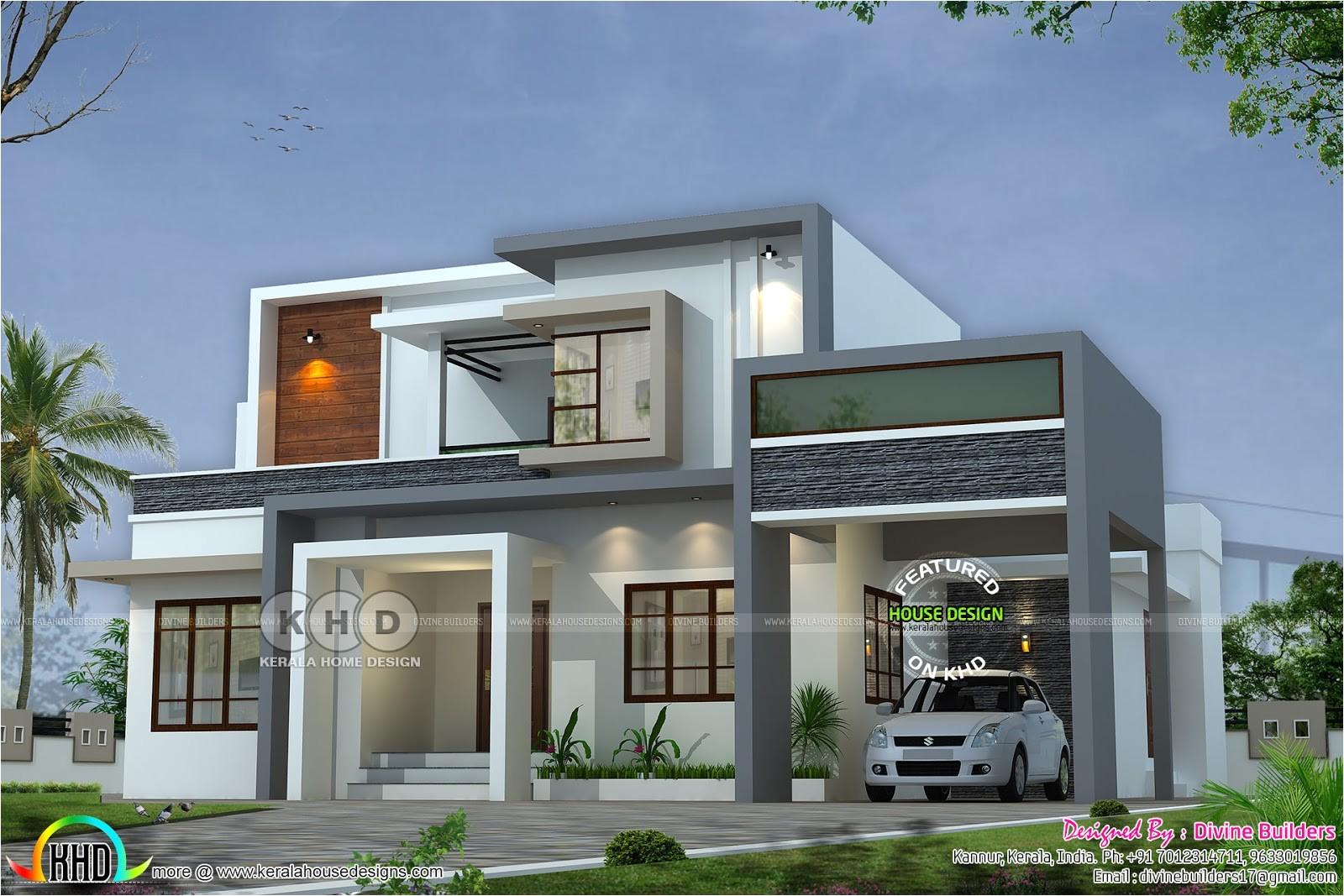 Architect Designed Home Plans 2017 Kerala Home Design and Floor Plans