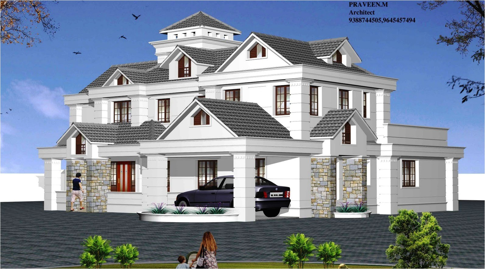 architect designed homes types house plans architectural design apnaghar