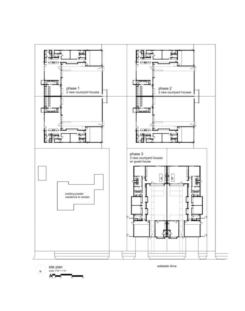 simple the six courtyard houses design by ibarra rosano design house plans for simple houses