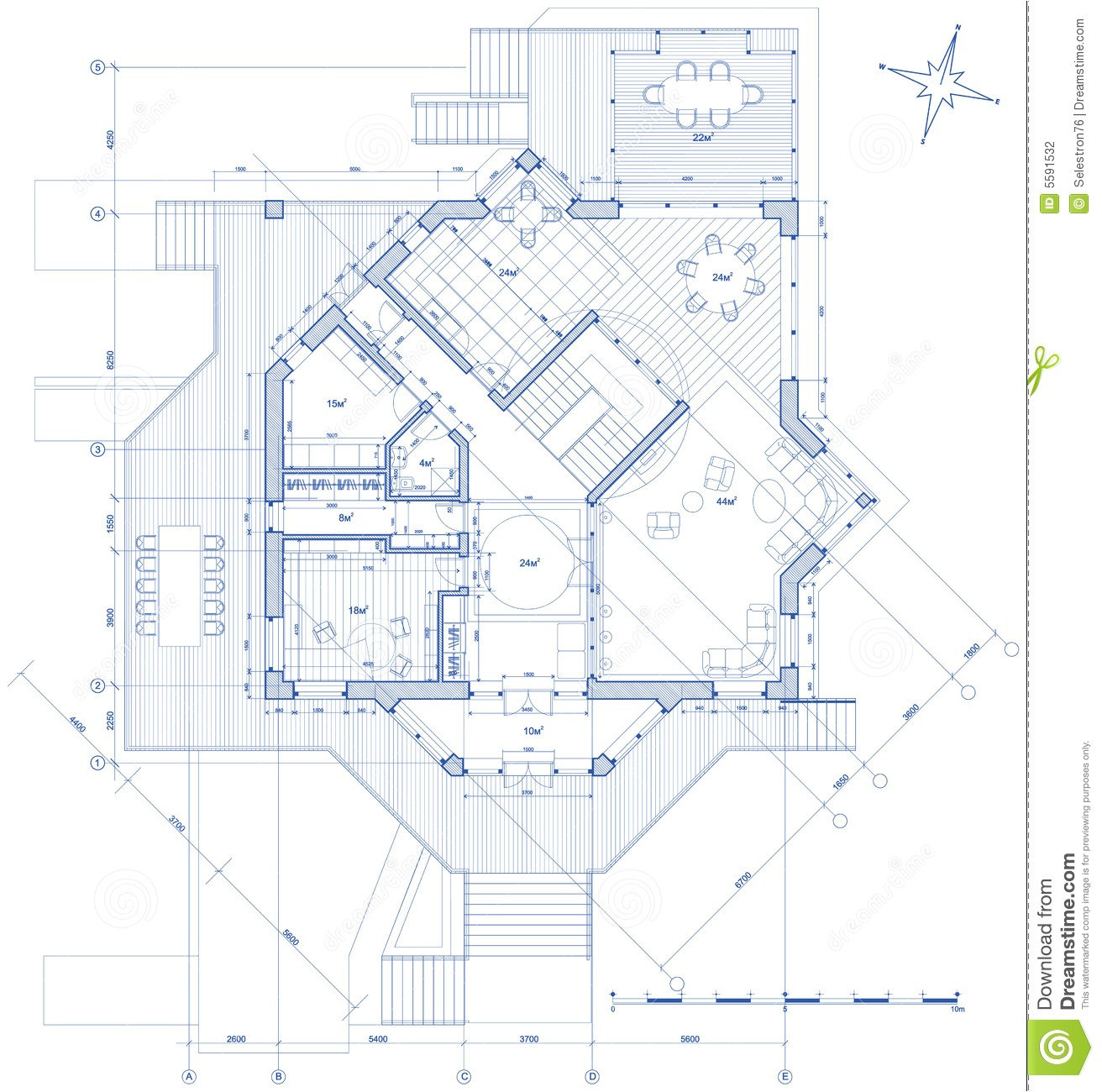 stock photography house architecture plan image5591532