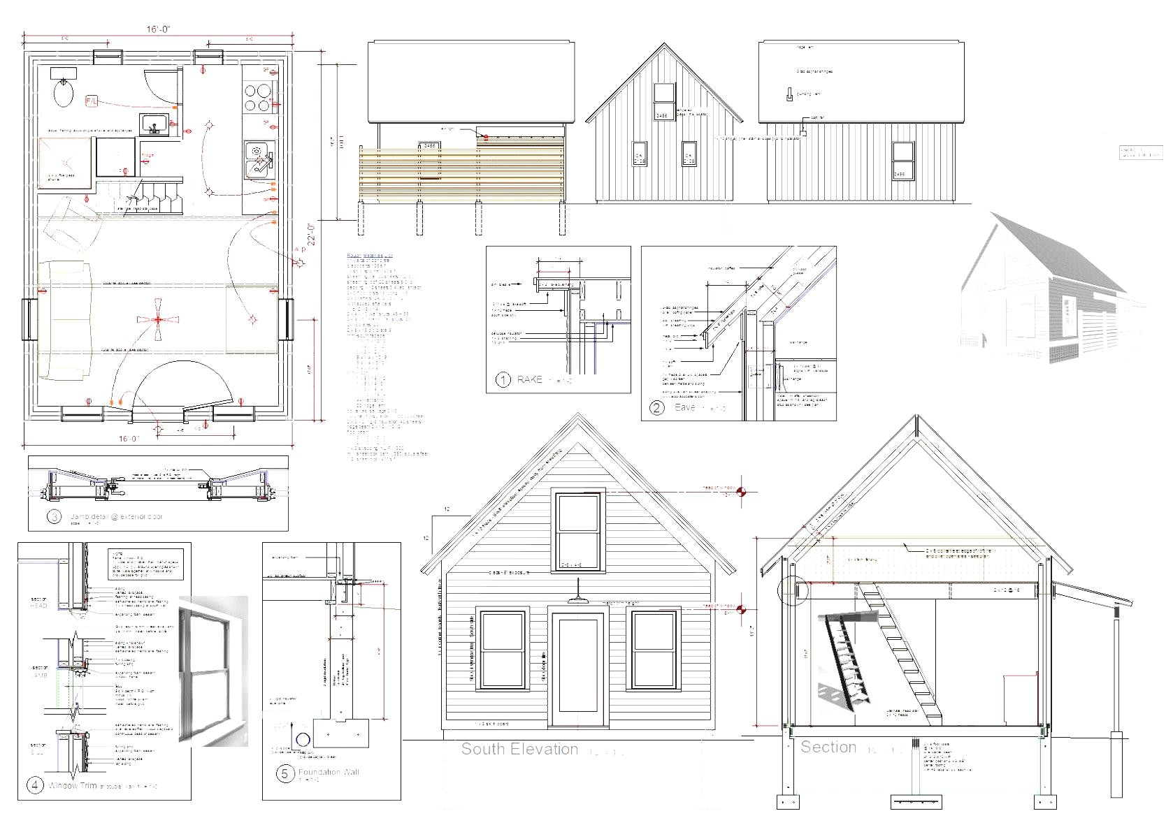 modern home architecture houses blueprints