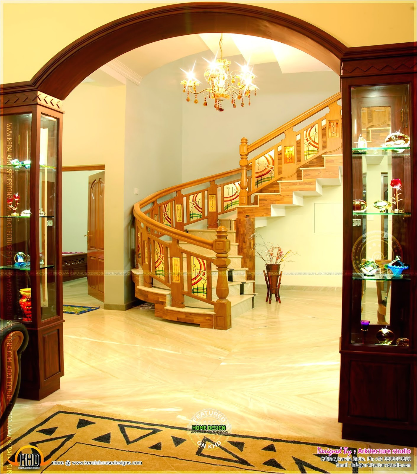 home interior arch designs