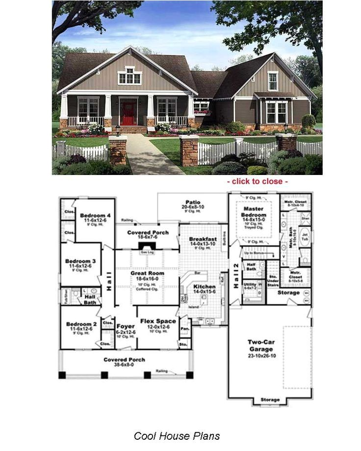 arts and crafts style home plans