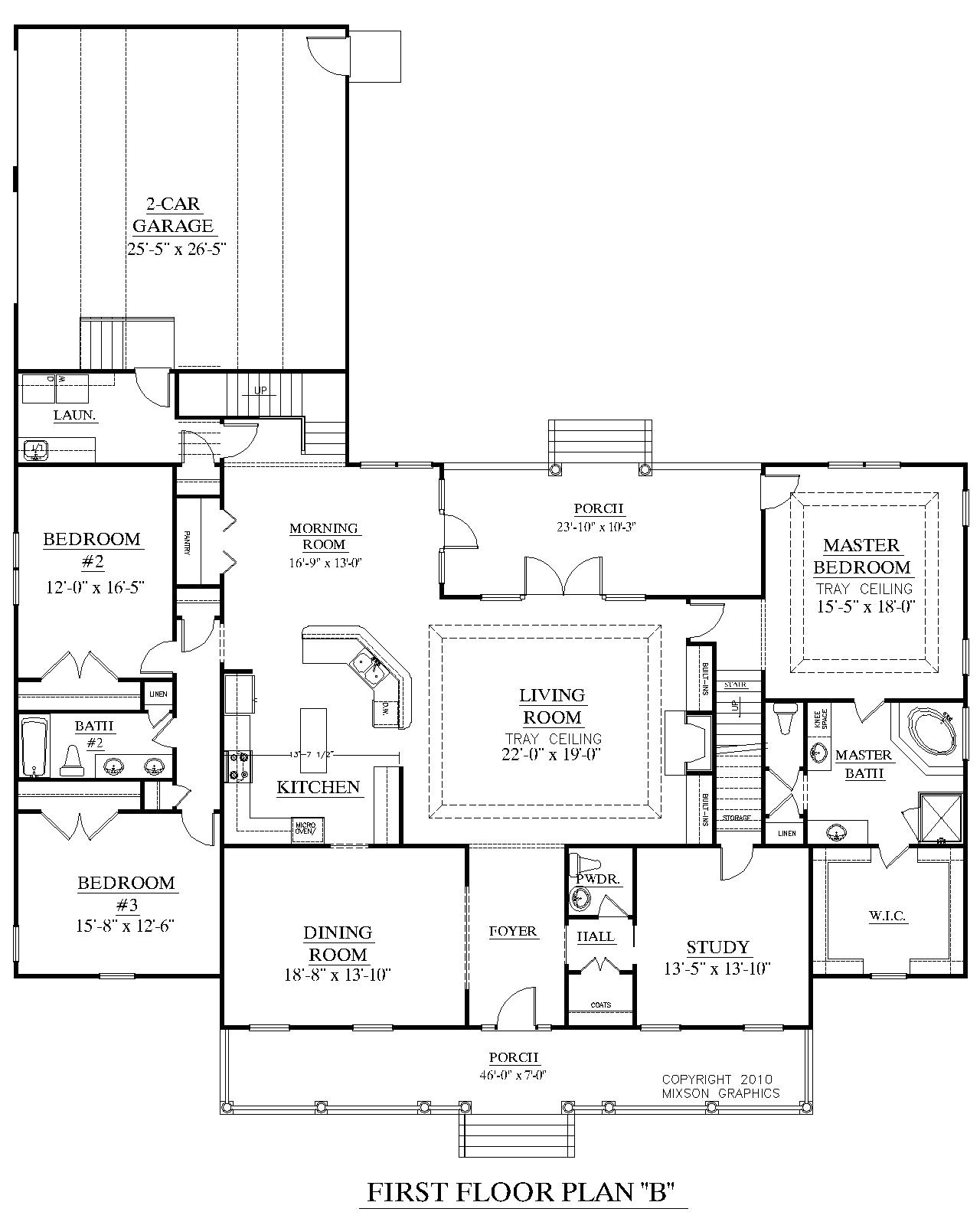 house plan 3027 b the brookgreen b