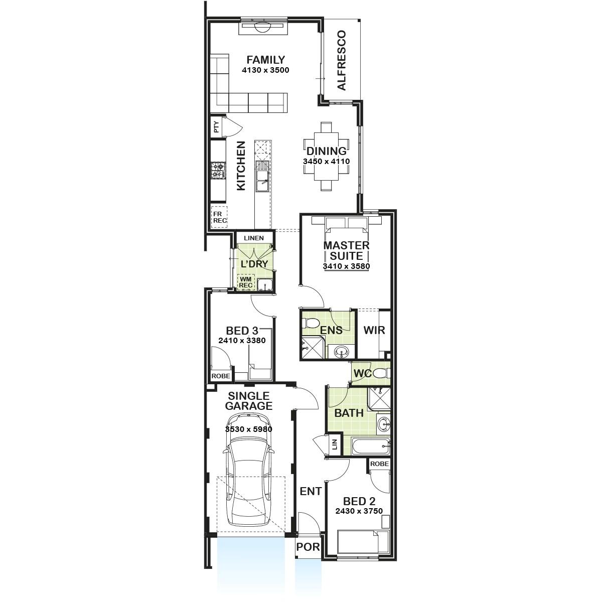 Atlantis Homes Floor Plans atlantis Floor Plan Gemmill Homes