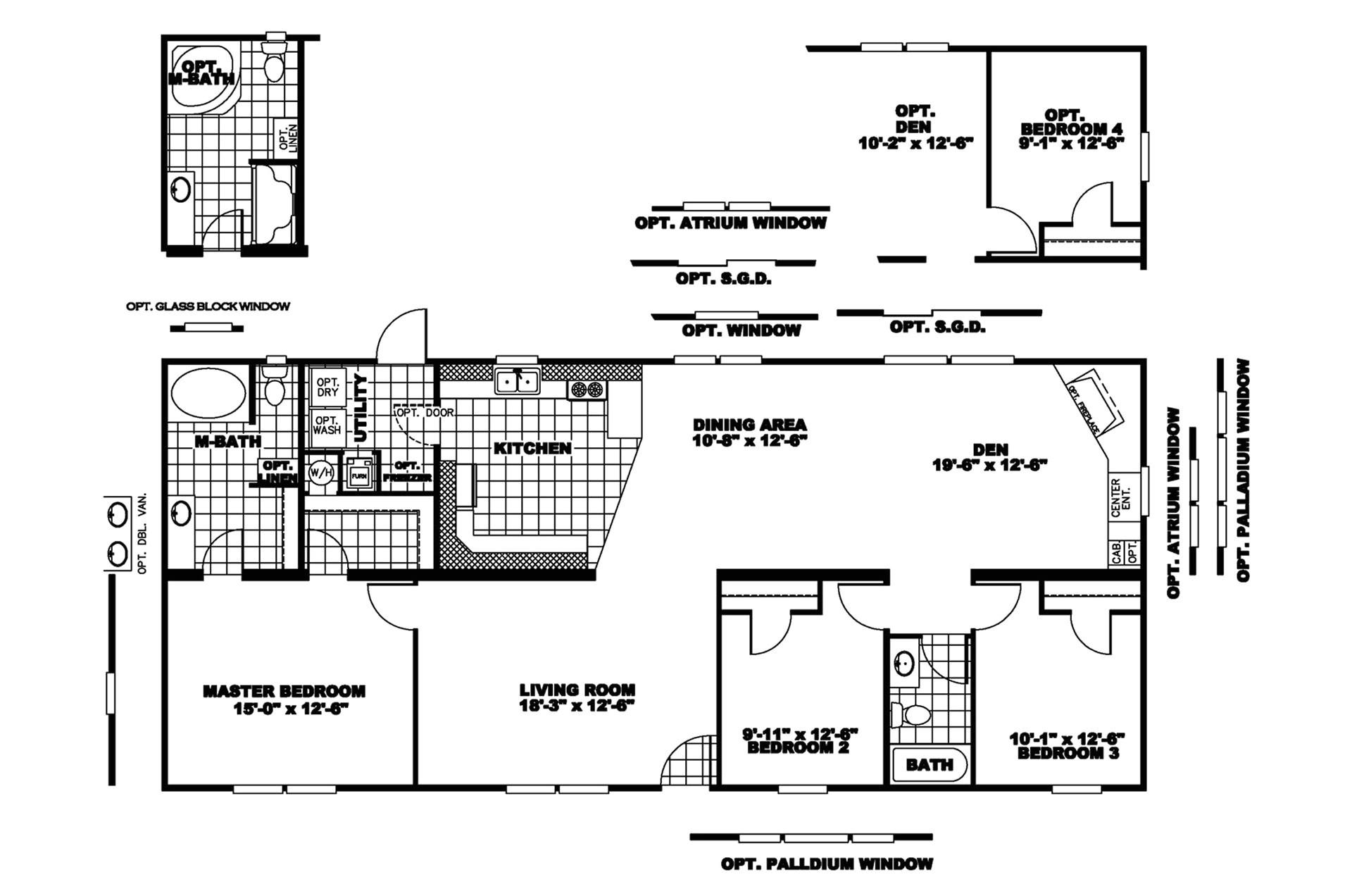 manufacturedhomefloorplan floorplan 3844 state ok city stratford