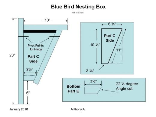 audubon birdhouse plans