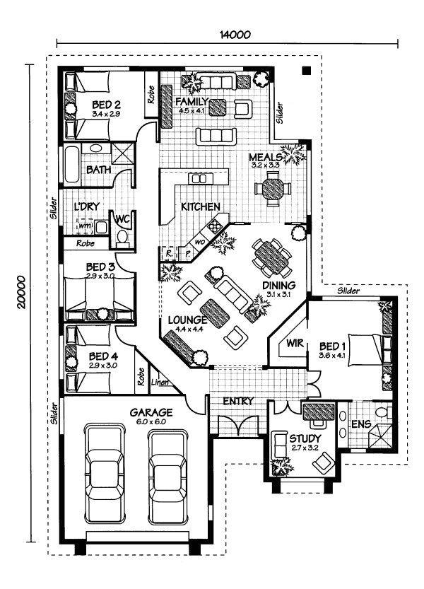 Australian Home Plans Floor Plans Best 25 Australian House Plans Ideas On Pinterest One