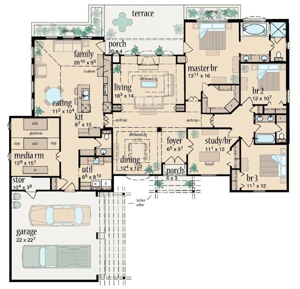 award winning ranch house plans