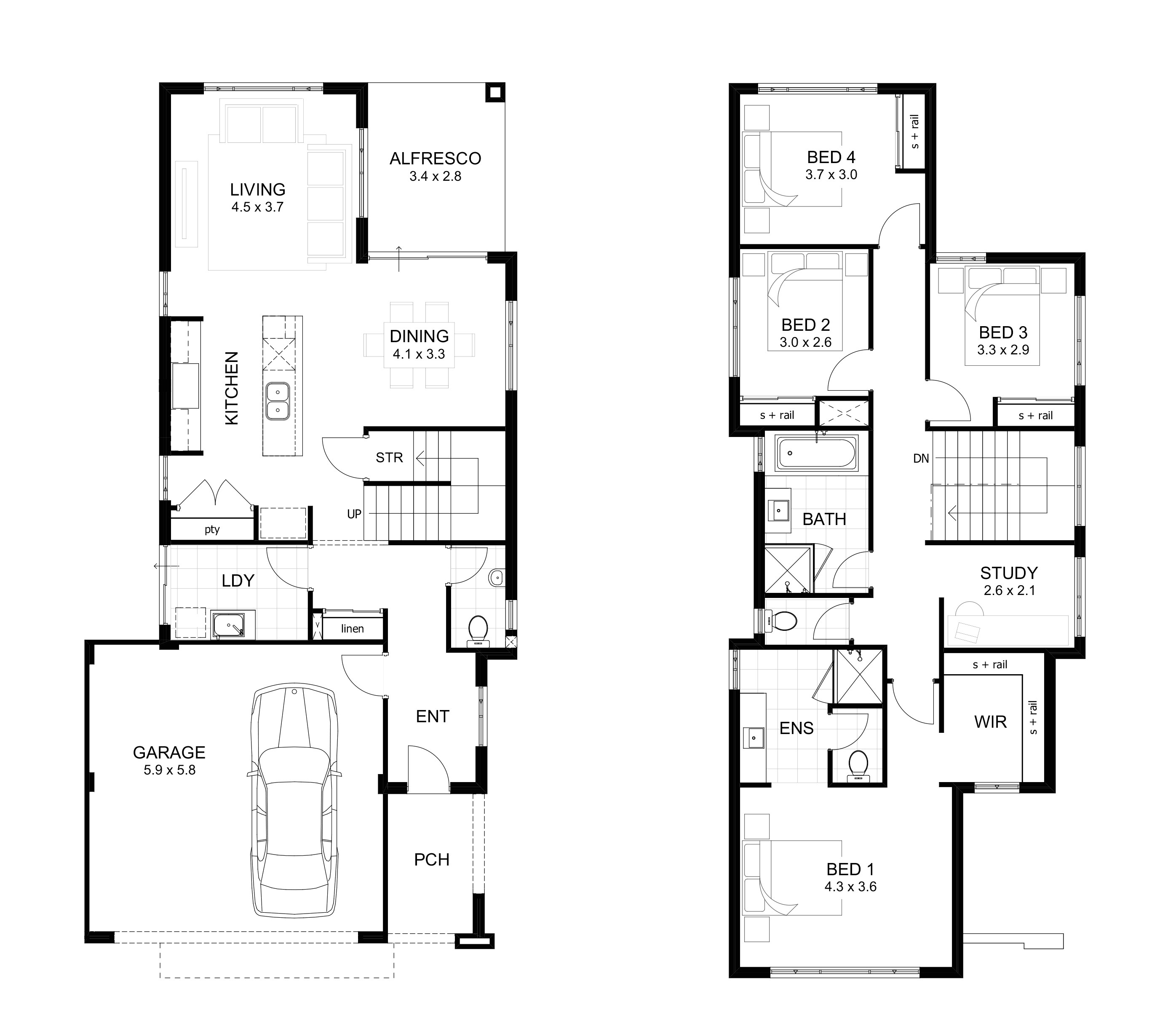 5 bedroom house plans luxury 5 bedroom house floor plans awesome floor plans aflfpw 1 story