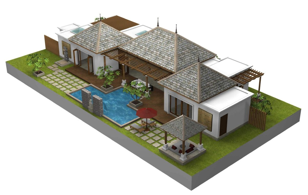 Balinese Home Plans Bali Style House Floor Plans Styles Of Homes with