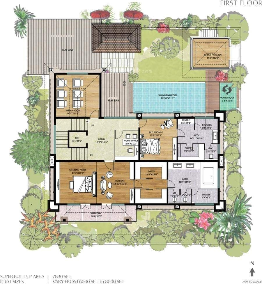balinese style house floor plans