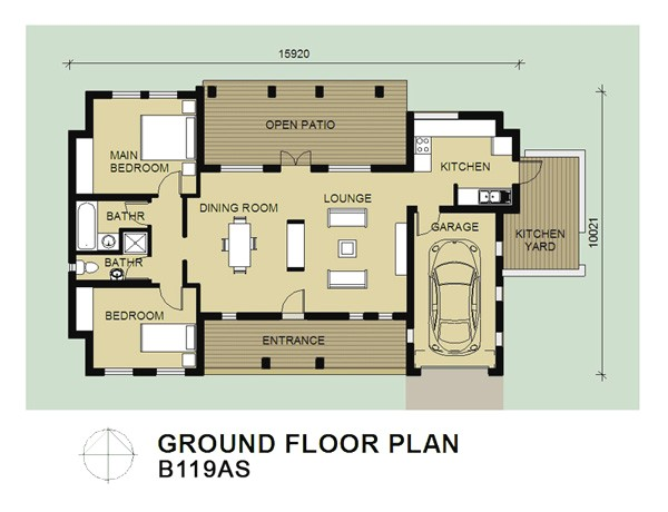bali house designs plans
