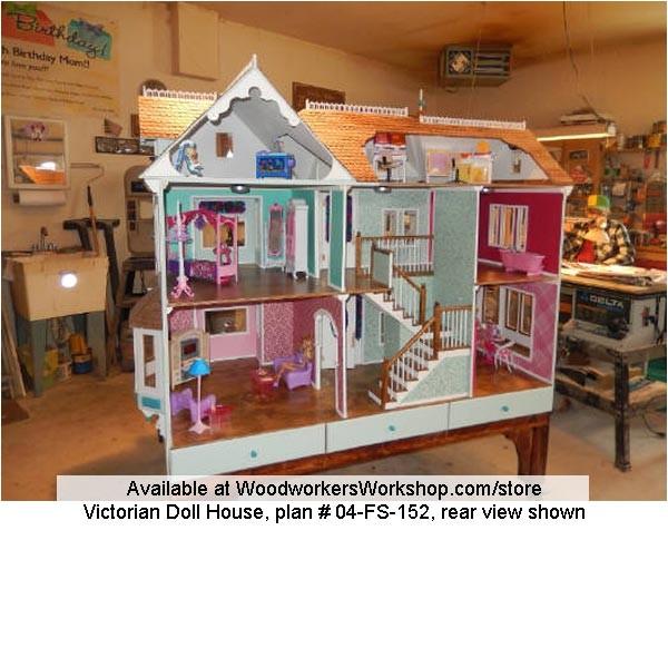 zwq5mjk4 barbie dollhouse woodworking plans