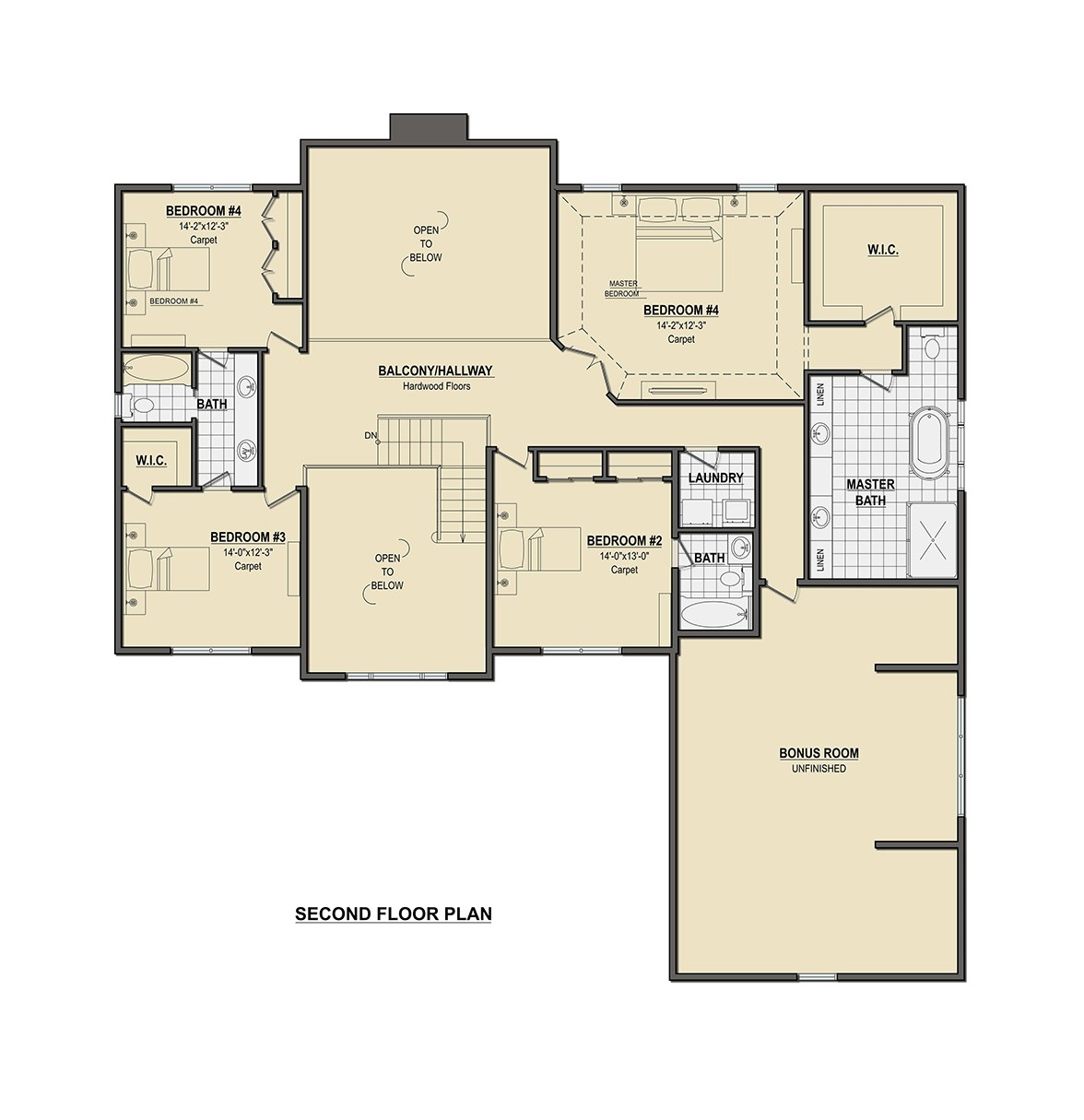 floorplan barlow 2nd 2