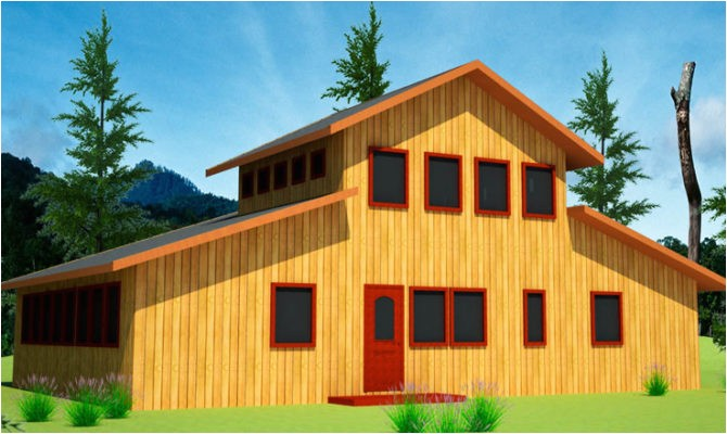 12 surprisingly barn shaped house plans