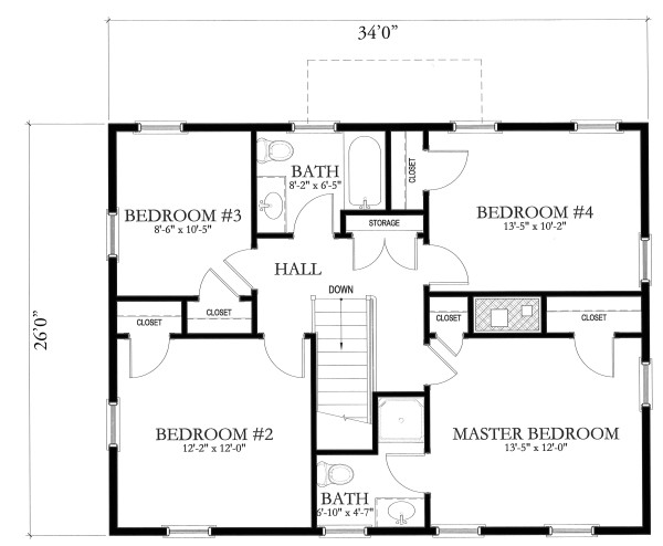 simple house blueprints with measurements and simple floor plans on floor with simple ranch house plans home