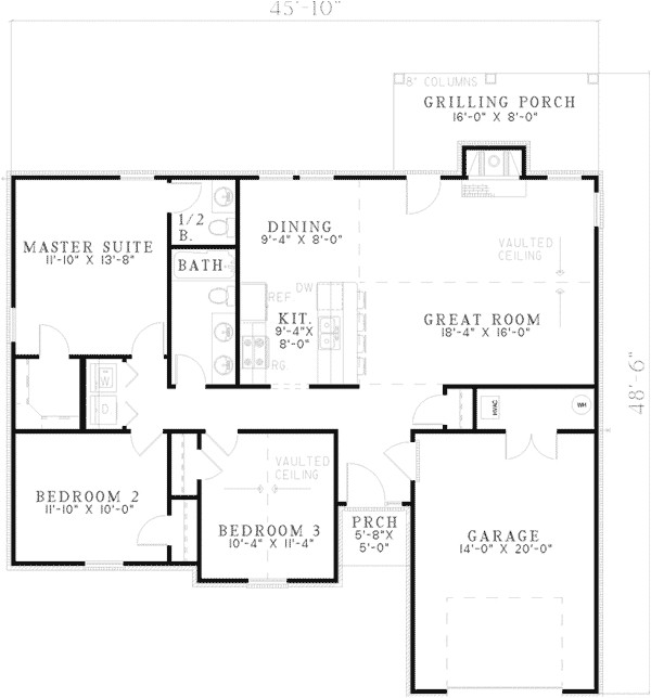 simple ranch style home plans