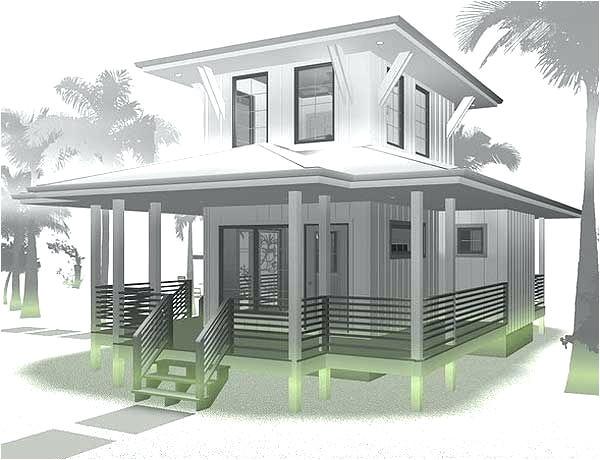 beach box house plans plan beach lovers dream tiny house plan obx beach box house plans
