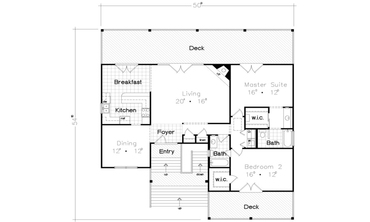 4abd325a970b3de6 beach bungalow house floor plan cottages and bungalows