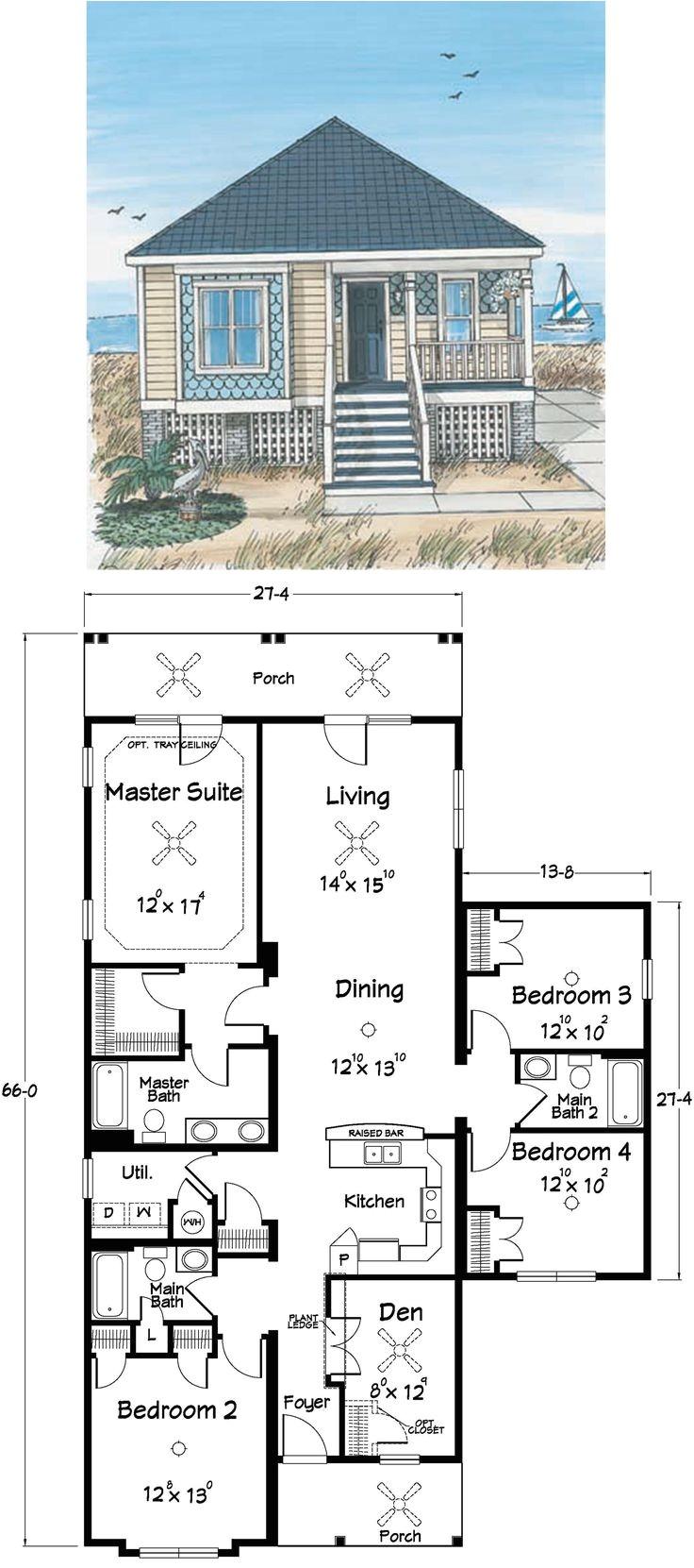 Beach Home Design Plans Best 25 Beach House Plans Ideas On Pinterest Beach