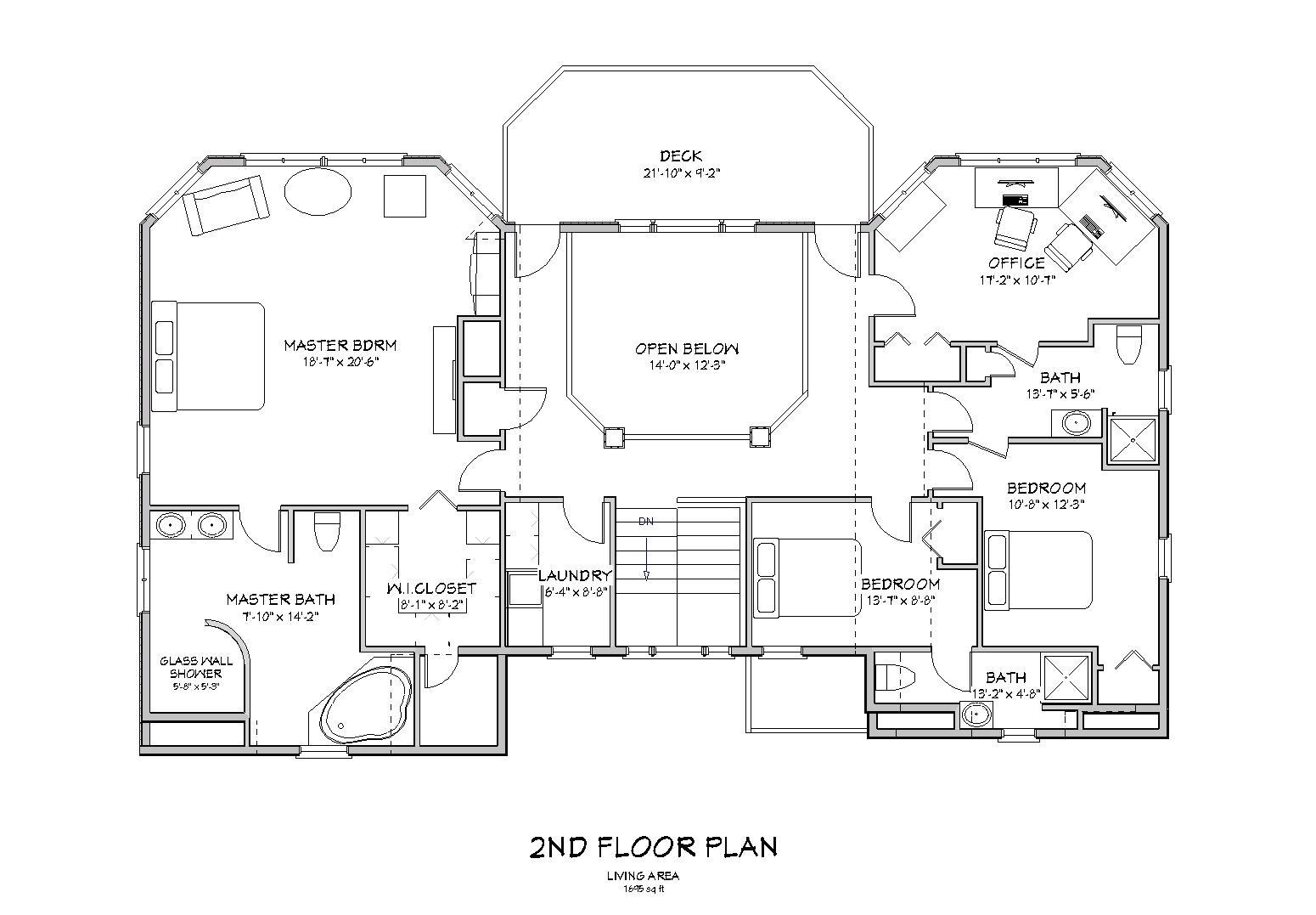 beach house plan d64 3173
