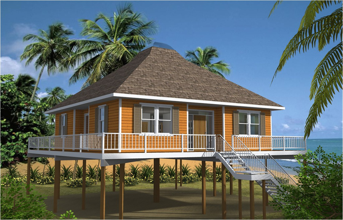 beach house plans on pilings