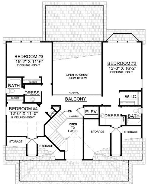 beach house floor plans with elevator