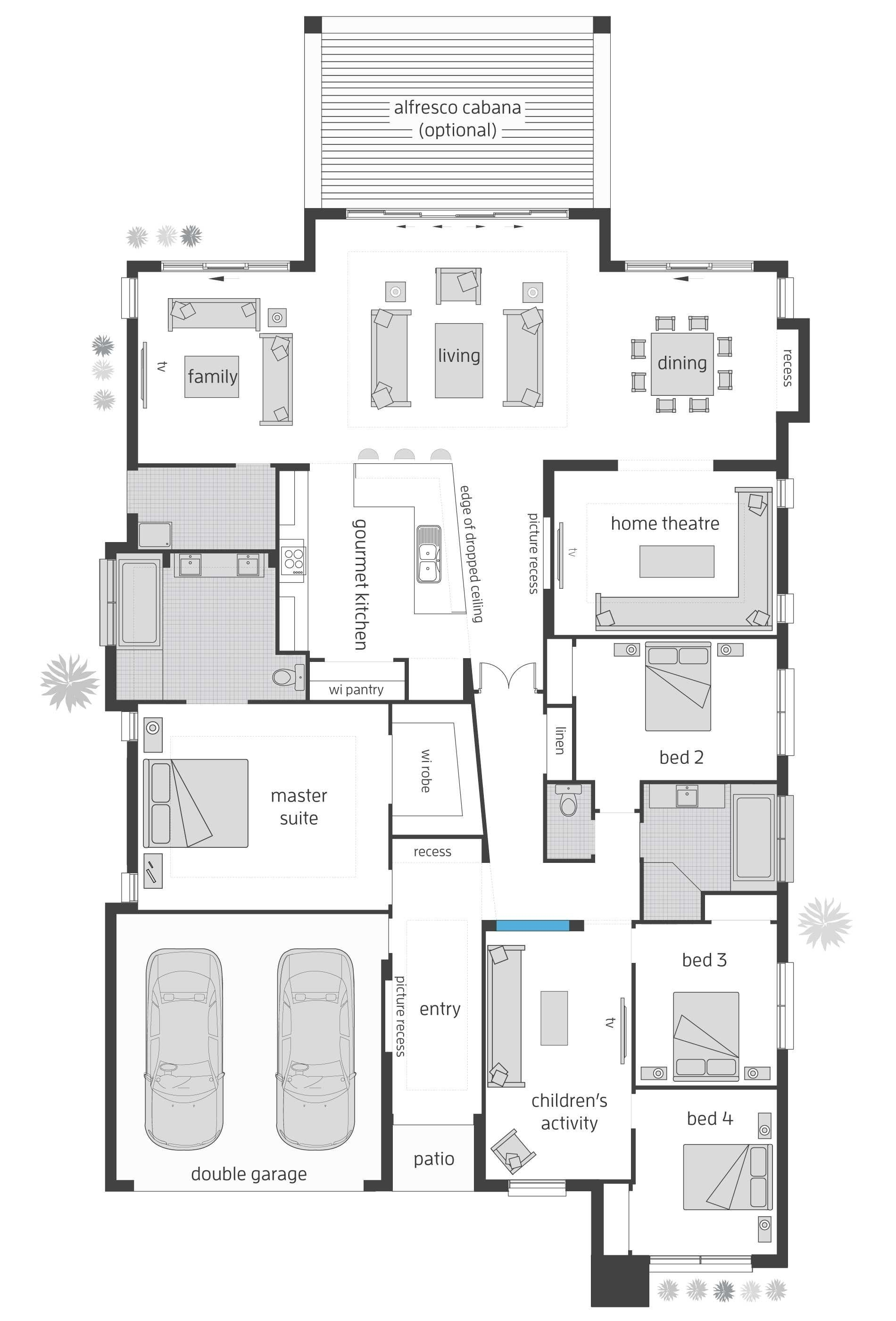 beach house plans with elevator