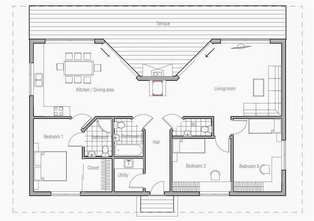 ch61 small beach house plan