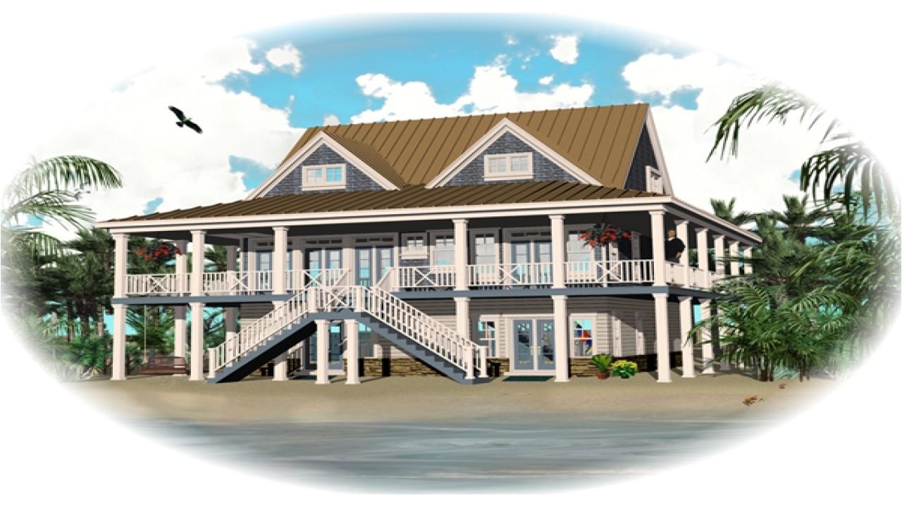 00b038de294f8b8a beach style house designs home plans raised beach house